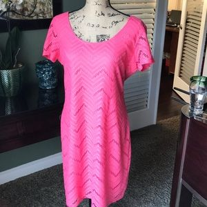 Dresses & Skirts - Coral short sleeve dress